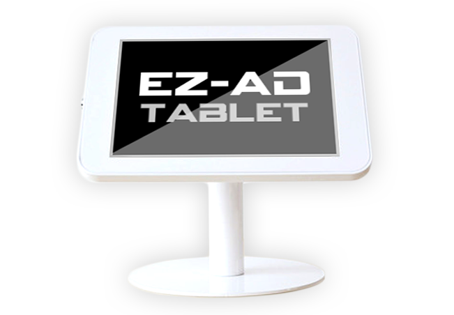 EZ-AD Table stand is a great universal solution to mounting your tablet